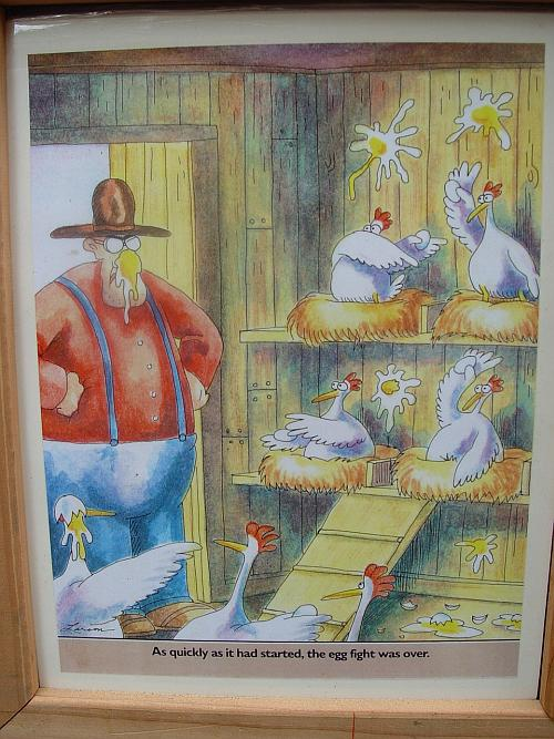 Poultry Palace Cartoon