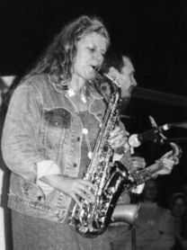 Kristina Olsen on Sax Jamming with Friends