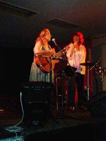 Kristina Olsen & Friend - 12/12/02 - The Winery Brisbane